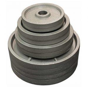 ITEM NO 15 – CAST IRON WEIGHT PLATES –  2.5 KG PAIR